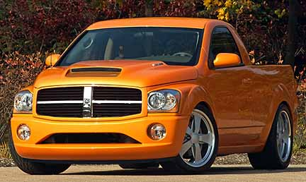 In 2004 The Chrysler Group Skunkwerks Team Developed A Dodge Durango Dude Concept Truck Ed By 5 7 Liter Hemi V 8 Engine With Unique Pickup